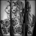tatouage trad