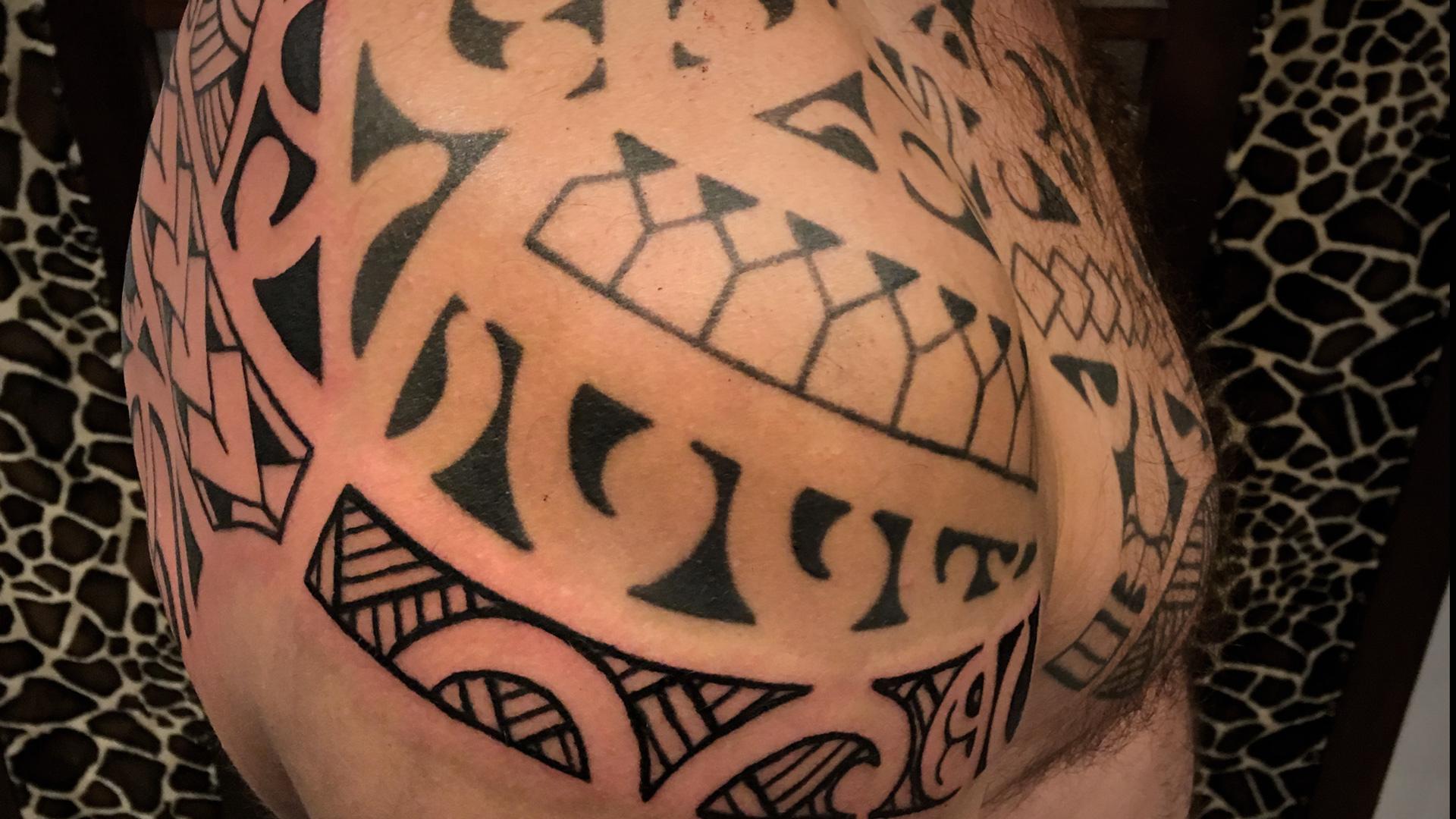 tatouage marquisien